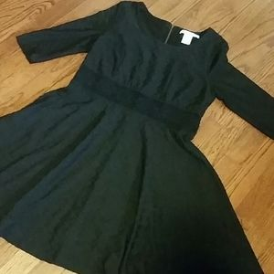 Beautiful Black Dress for the Holidays!
